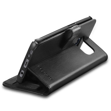 spigen samsung galaxy s7 edge wallet s case black