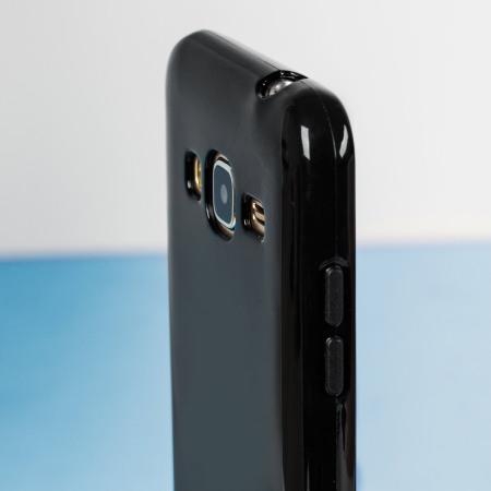 super popular 7c057 9d172 FlexiShield Samsung Galaxy J3 2016 Gel Case - Solid Black