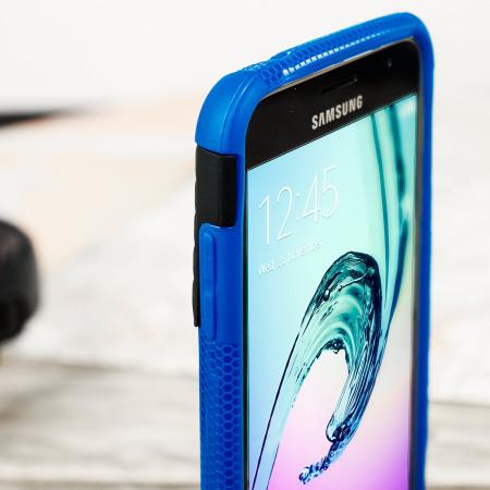 Custodia ArmourDillo Olixar per Samsung Galaxy J3 2016 - Blu