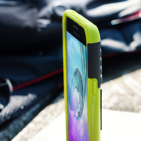 for great olixar armourdillo samsung galaxy j3 2016 protective case green LED flash enables