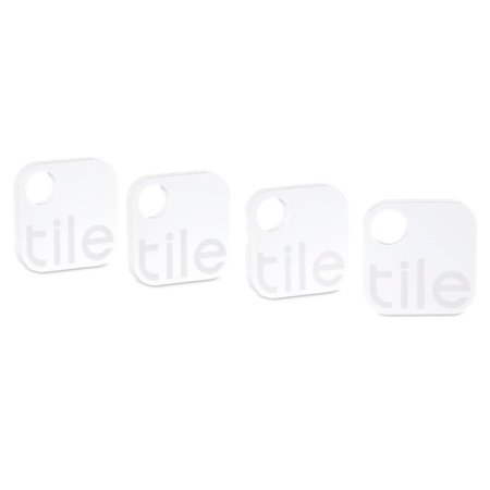 Tile Bluetooth Tracker Device - Four Pack
