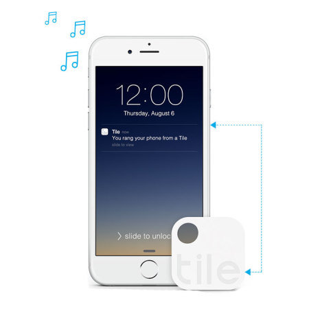 Tile Bluetooth Tracker Device Four Pack