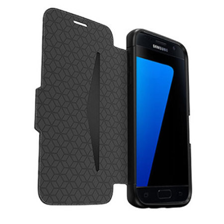 there completely free otterbox strada series samsung galaxy s7 edge leather case black the