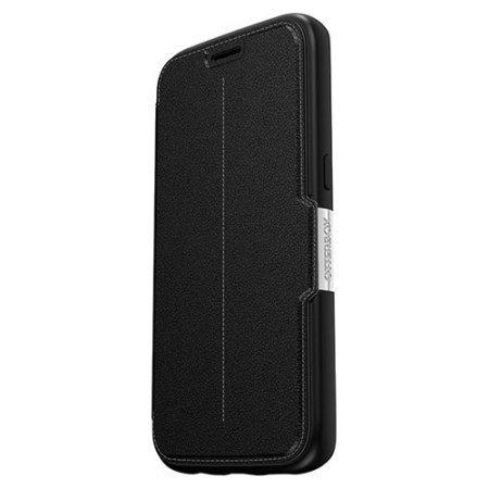 olixar genuine leather samsung galaxy s7 wallet case black