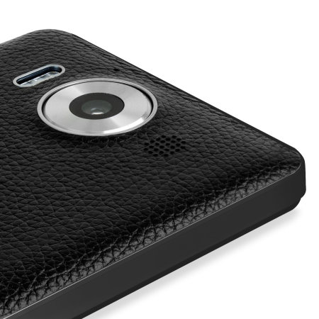 Mozo Microsoft Lumia 950 Wireless Charging Back Cover - Black Rim