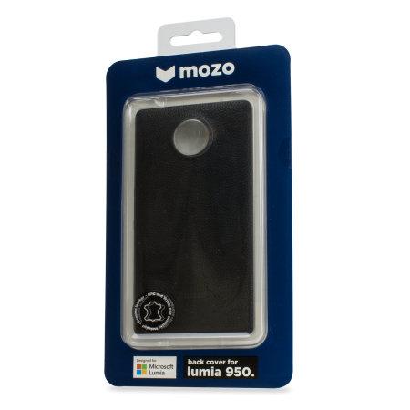 enter mozo microsoft lumia 950 wireless charging back cover black rim the top