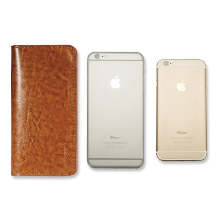 jison case genuine leather universal smartphone wallet case brown realize thus considerably