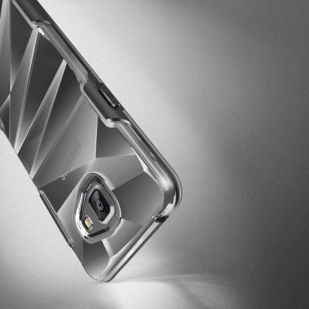 vrs design shine guard samsung galaxy a7 2016 case black clear 5