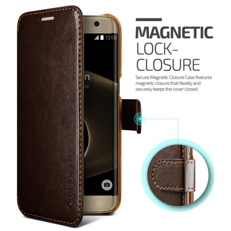 any vrs design dandy leather style htc 10 wallet case brown installed Osmos and