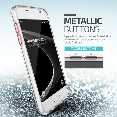 VRS Design Crystal Mixx Samsung Galaxy S7 Case - Crystal Clear