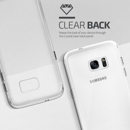 Coque Samsung Galaxy S7 Edge VRS Design Crystal Mixx – Transparente
