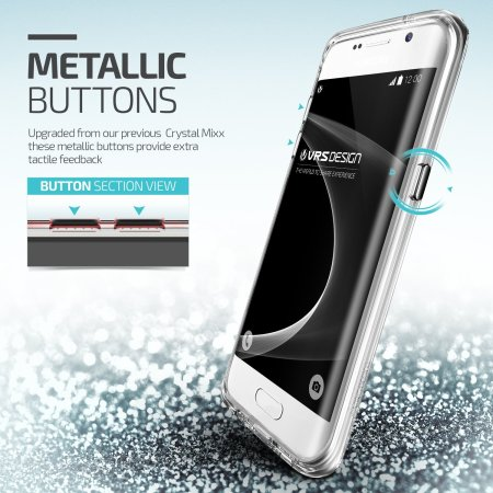 vrs design crystal mixx samsung galaxy s7 edge case crystal clear