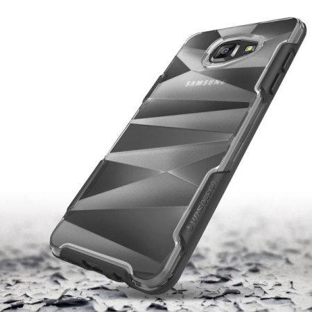 VRS Design Shine Guard Samsung Galaxy A7 2016 Case - Black / Clear