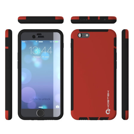 Ghostek Blitz Total Protection iPhone 6S / 6 Case - Red