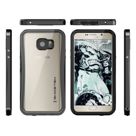 Ghostek Atomic 2.0 Samsung Galaxy Note 5 Waterproof Tough Case - Black