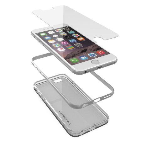 Ghostek Cloak iPhone 6S / 6 Tough Case - Clear / Silver