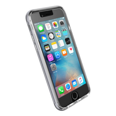 max phone for ghostek cloak iphone 6s 6 tough case clear silver phone runs