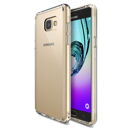 Rearth Ringke Fusion Samsung Galaxy A7 2016 Case - Rose Gold