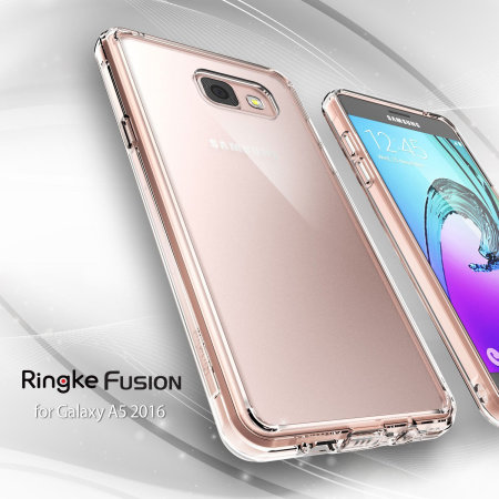 Rearth Ringke Fusion Samsung Galaxy A5 2016 Case - Rose Gold