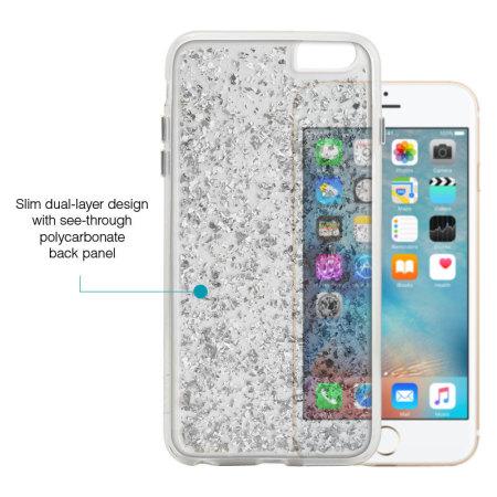 Prodigee Scene Treasure iPhone 6S Plus / 6 Plus Case - Silver Sparkle