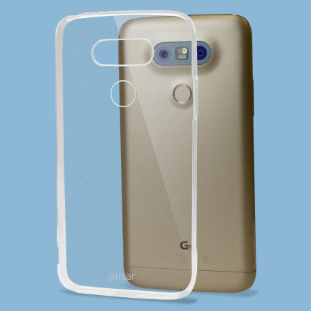 the olixar ultra thin lg g5 case 100% clear