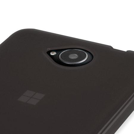 you want flexishield microsoft lumia 650 gel case smoke black the camera