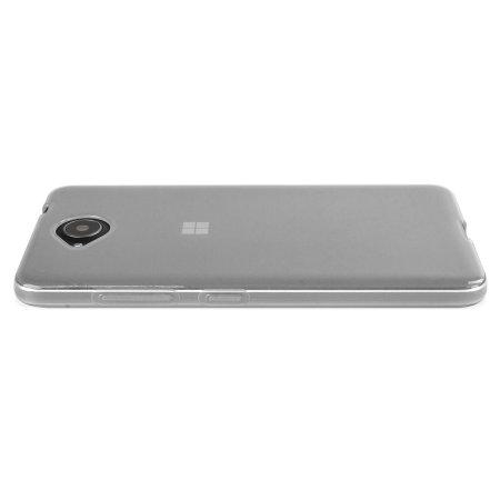 FlexiShield Microsoft Lumia 650 Gel Case - Clear