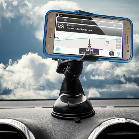 Olixar DriveTime Samsung Galaxy J5 2015 Car Holder & Charger Pack