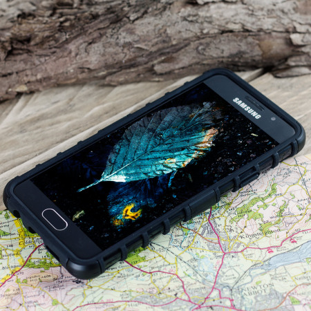 olixar armourdillo samsung galaxy a3 2016 case black