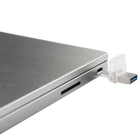 Kingston DataTraveler microDuo 3C USB-C and USB Memory Stick - 16GB