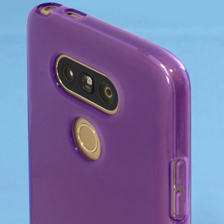 FlexiShield LG G5 Gel Etui – Lilla