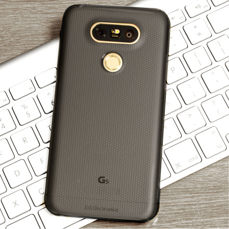 Official LG G5 Crystal Guard Case - Titan Black