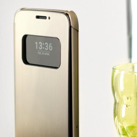promo code 5b946 4e558 Official LG G5 Mesh Folio Quick Cover Case - Gold
