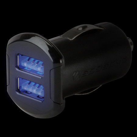 Scosche reVOLT Dual USB 4.8A Car Charger - Black