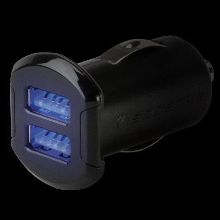 Chargeur Voiture Scosche reVOLT Dual USB 4.8A - Noire