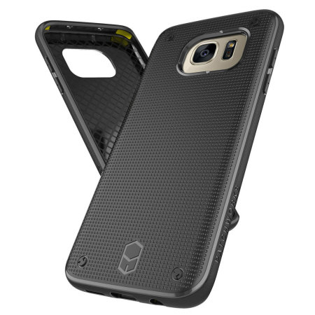 Coque Samsung Galaxy S7 Edge Patchworks Flexguard - Noire