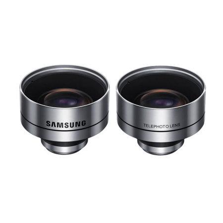 Original Samsung Galaxy S7 Edge Lens Cover Hülle in Schwarz