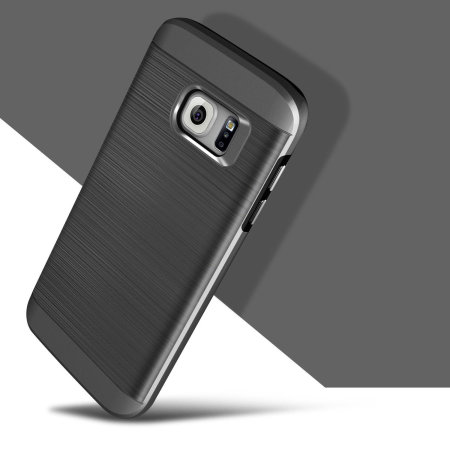Obliq Slim Meta Samsung Galaxy S7 Case - Titanium Space Grey