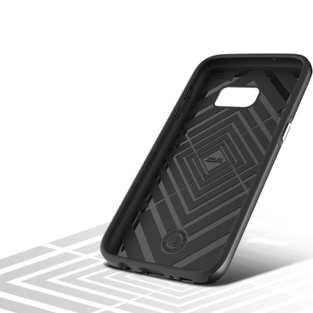 Coque Samsung Galaxy S7 Obliq Slim Meta – Gris Titane Espace