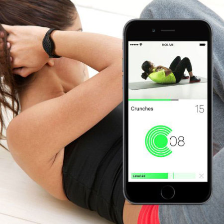 Moov NOW Personal Coach & Fitness Tracker - Black