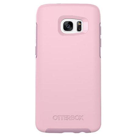 brand new b27ca 84ff4 OtterBox Symmetry Samsung Galaxy S7 Edge Case - Pink
