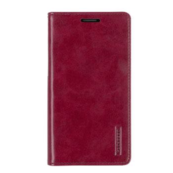 Mercury Blue Moon Flip Samsung Galaxy J5 2015 Wallet Case - Wine