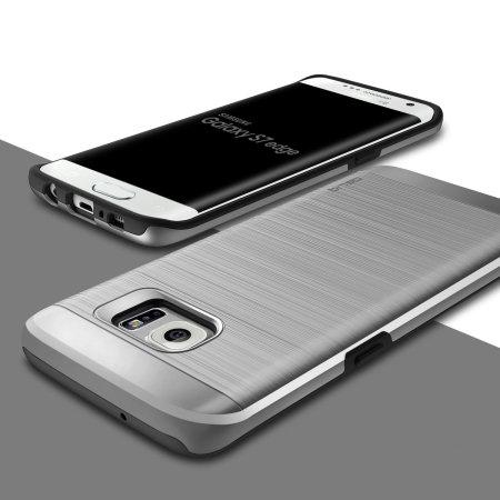 Obliq Slim Meta Samsung Galaxy S7 Edge Case - Satin Silver