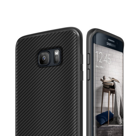 Obliq Flex Pro Samsung Galaxy S7 Edge Case - Black