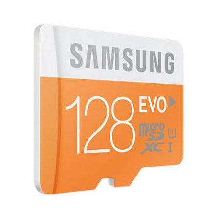 Samsung 128gb micro sdxc evo memory card adapter class 10