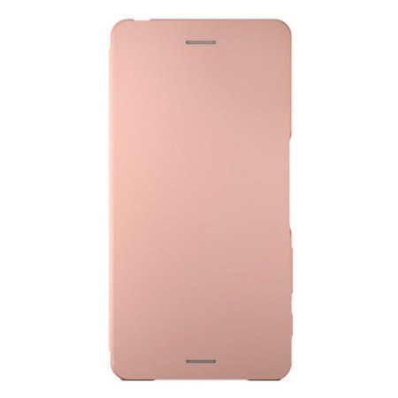 Official Sony Xperia X Style Cover Flip Case - Rose Gold