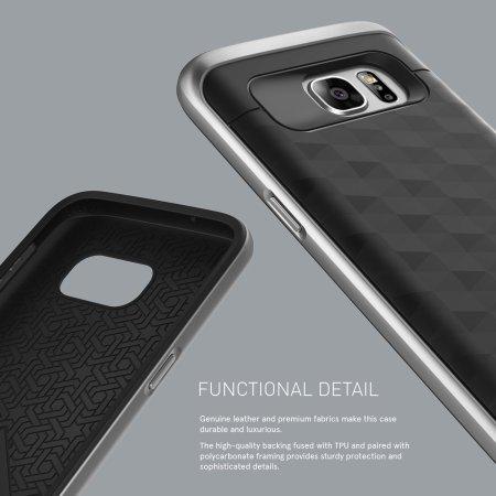 Caseology Parallax Series Samsung Galaxy S7 Case - Black