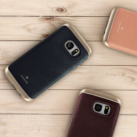 take look caseology galaxy s7 envoy series leather brown reviews
