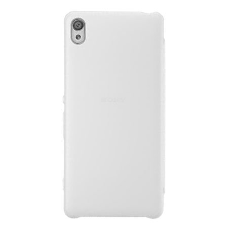 Official Sony Xperia XA Style Cover Flip Case - White