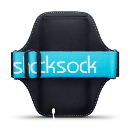 Shocksock Premium Samsung Galaxy Note 5 Armband - Black / Blue